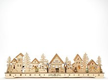 """Winter Christmas Village"" LED Wooden"