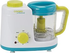 0.6L Baby Food Steamer and Blender Cooks