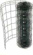 0.6m x 10m Green PVC Coated Galvanised Steel Wire