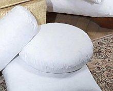00% Virgin Hollow Fibre Round Cushion Pads