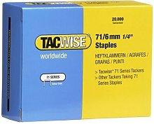 0367 Type 71 Box of 20,000 Staples 6mm 71 Series -