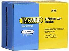 0369 Type 71 Box of 20,000 Staples 10mm 71 Series