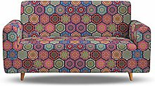 1/2/3/4 Seater Stretch Sofa Couch Covers, Printed