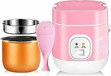 1.2 L mini rice cooker 2-layer steamer, non-stick
