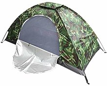 1-2 Man Camouflage Tent Waterproof Windproof For