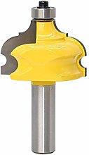 1/2 Shank Half Arc Elegant Milling Cutter, Solid