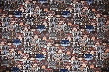1/2m | Luxurious Heavyweight Brown Tapestry Fabric
