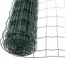 1.2m x 10m Green PVC Coated Galvanised Steel Wire
