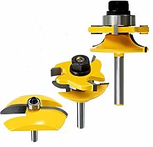 1/4'' Shank Groove Router Bits Rail