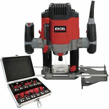 1/4' Electric Plunge Router Variable Speed