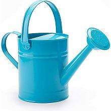 1.5L (or 51oz) Blue Metal Watering Can - Kids
