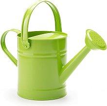 1.5L (or 51oz) Green Metal Watering Can - Kids