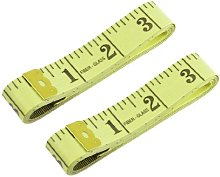 1.5M Double Gold Tone End Tape Measure Tailor Tool