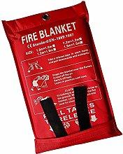1.5x1.5 m Fire Blanket Fire Emergency Blanket