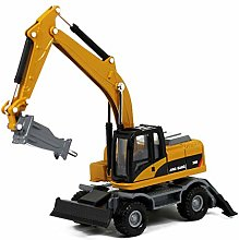 1/60 Scale Diecast Articulated Dump Truck Alloy