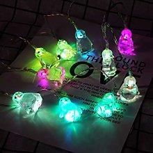 1.65M LED Penguin Shaped String Lights, Decorative