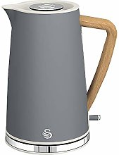 1.7L Nordic Style Cordless Kettle Grey, Appliance