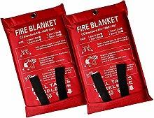 1.8x1.8 m Fire Blanket Fire Emergency Blanket