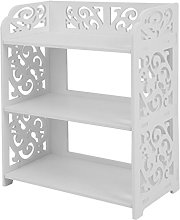 1# Display Cabinet Shoes Storage Organizer Stand