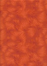 1 Fat Quarter (48cm x 55cm) Terracotta/Burnt