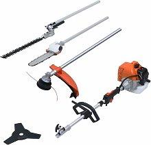 1-in-4 Petrol Garden Multi-tool Set with 52 cc