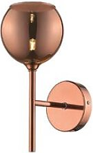 1 Light Wall Light Copper with Glass Shade, G9 -