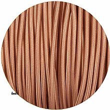 1 Meters, 3 Core Round Rose Gold Italian Vintage
