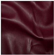 1 Metre Burgandy - Matt Faux Leatherette Fabric