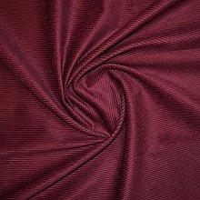 1 Metre | Burgandy/Wine Red | Italian 100% Cotton