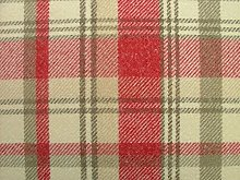 1 Metre Elgin Cranberry Wool Effect Washable Thick