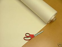 1 Metre Ivory Vinyl Leatherette Faux leather