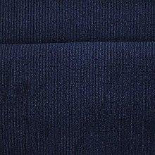 1 Metre | Navy Blue | Italian 100% Cotton Needle