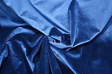 1 Metre | Royal Blue - Premium Cotton Velvet