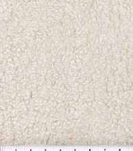 1 Metre | Sheep Printed Faux Fur Short Hair Velour