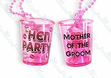 1 Mother of The Groom Shot Glass Hen Night