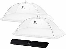 (1 Pack & 2 Pack) XL Food Tent/Food Covers for