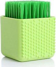 1 Pack Multi-Functional Silicone Laundry Brush,