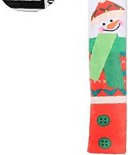 1 Pair Christmas Refrigerator Door Handle Covers