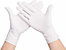 1 Pair Disposable White Gloves Health Cleaning
