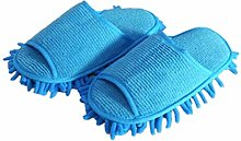 1 Pair Dust Floor Cleaning Slippers Cleaner
