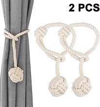 1 Pair Hand Knitting Home Curtain Tie Rope