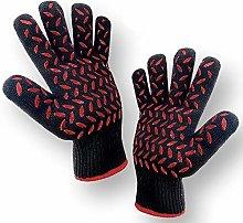 1 PAIR Heat Resistant Gloves Oven Gloves Heat