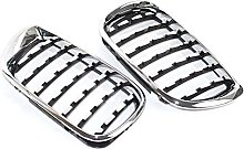 1 Pair Kidney Front Grill Car Grilles fit for BMW