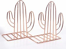 1 Pair of Magazine Holder, Metal Desk Organizer -