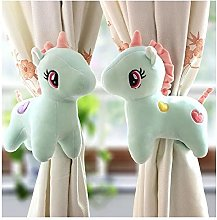 1 Pair Unicorn Curtain Tie Backs