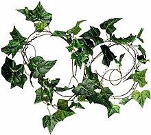 1 Pc Simulation Vibrant Green Leaf Crafts Faux