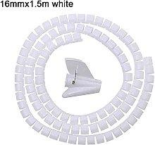1 Pcs 1.5/2m Flexible Spiral Cable Organizer