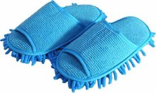 1 Pcs Dust Floor Cleaning Slippers Cleaner Grazing