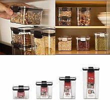 1 Pcs Food Storage Container Plastic Transparent