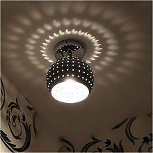 1 PCS Mini Led Ceiling Light Dome Lamp Chrome